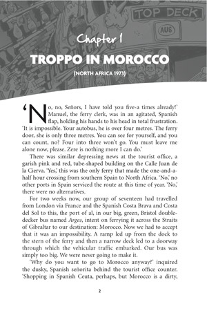 Top Deck Daze Chapter 1 - Troppo in Morocco page 1